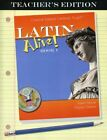 LATIN ALIVE BOOK ONE TEACHERS EDITION By Gaylan Dubose
