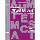 SAXON MATH 54 2ND EDITION TEACHER S EDITION Hardcover Excellent Condition