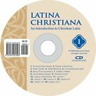 LATINA CHRISTIANA I PRONUNCIATION CD By Cheryl Lowe Mint Condition