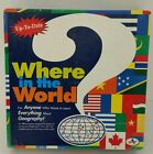 Aristoplay Where in the World Board Game VINTAGE Board GAME