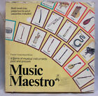 Vintage Music Maestro Game Musical Instruments Past and Present 1990 Aristoplay