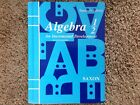 Saxon Algebra 1 2 2nd editionteachers edition student textbook answer key