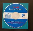 Class Lesson Planner Book On CD Rom Christian Liberty Press