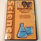 InquisiKids Discover  Do Science DVD Vol 3 Batteries Body Weather Sonlight