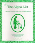 Alpha List companion to Spell to Write and Read