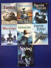 lot 7 Usborne Books Military War Fighting Tanks Planes Submarines Special Forces