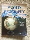 A Beka World Geography 9 Student Text 2004 printing