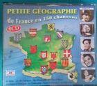 SMALL GEOGRAPHY  OF FRANCE IN 150 SONGS COMPILATION  6 CD  Ref CO 31