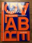 NEW math Saxon Algebra 1 student text homeschool packet solution manual 3rd ed