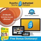 NEW Rosetta Stone FULL COURSE LIFETIME DOWNLOAD RUSSIAN DICTIONARY GIFT BUNDLE