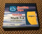 SAXON MATH 5 4 3rd Edition Homeschool Teaching Tapes Tutoring DVD Set