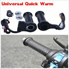New 7 822mm Motorcycle Electric Hand Heated Molded Grips ATV Warmers Handlebar