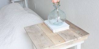 DIY Pallet Nightstands