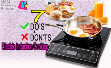 7 Do's And Don'ts Of Electric Induction Cooktop