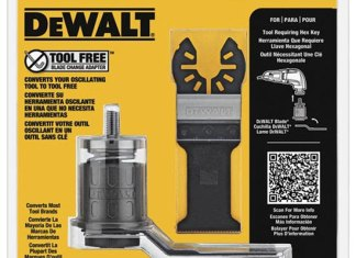 Dewalt Oscillating Tool-Free Adapter