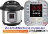 Instant Pot IP-DUO Series Specifications