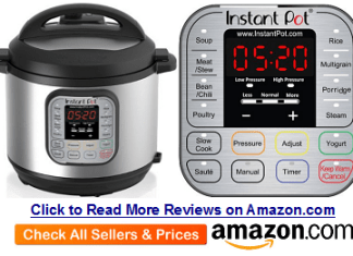 Instant Pot IP DUO Series Specifications