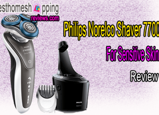 Philips Norelco Shaver 7700 For Sensitive Skin Review
