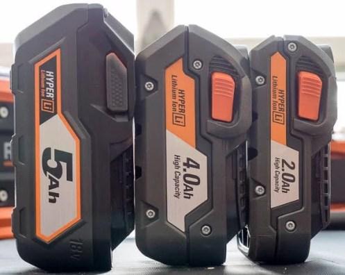 battery kit Ridgid Miter Saw