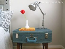 Click To Buy Suitcase Side Table