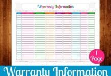Warranty Service Information
