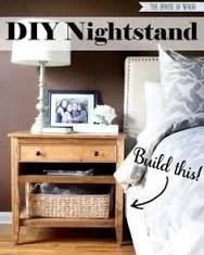 Cheap DIY Nightstand ideas