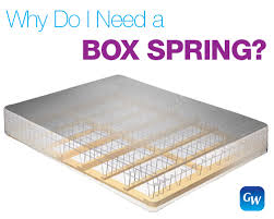 Mattress Foundation and Box Springs