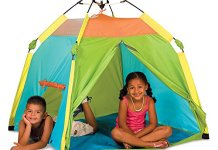 The One Touch Play Tent from Pacific Play Tents