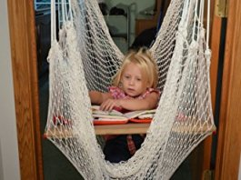Rainy Day Indoor net swing