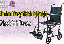 Aluminum Transport Chair Lightweight Wheelchair Review