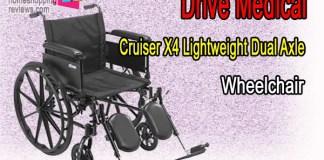 Drive Medical Cruiser X4 Lightweight Dual Axle Wheelchair