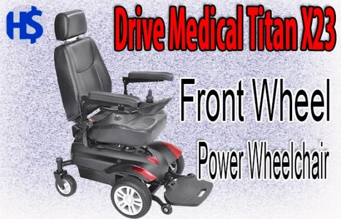 Drive Medical Titan X23 Front Wheel Power Wheelchair