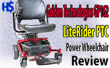 Golden Technologies GP162 Electric Wheelchair Review