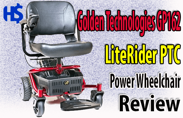Golden Technologies GP162 Electric Wheelchair Review