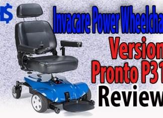 Invacare Power Wheelchair Version Pronto P31 Review