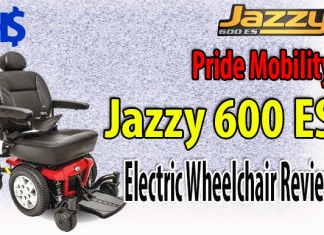 Pride Mobility Jazzy 600 ES electric wheelchair