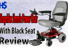 Shoprider Jimmie Power Chair Review