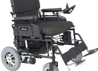 Drive Medical WILDCAT450BK24SS Wildcat Heavy-Duty Folding Power Wheelchair