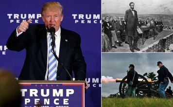 Donald Trump announced plans for his first 100 days