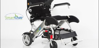 KD Smart Chair is one of the lightweight & versatile electric wheelchair