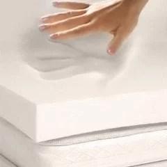 4 Pound Density Visco Elastic Memory Foam Mattress Topper