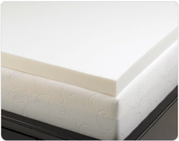 4 Pound Density Visco Elastic Memory Foam Mattress Topper Review