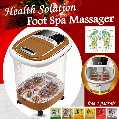 Best Home Foot Spa Machine Reviews & Buying Guide 2017