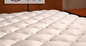 Extra Plush Bamboo Fitted Mattress Topper – Affordable & High Quality Topper