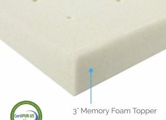 LUCID Ventilated Memory Foam Mattress Topper Review