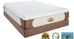Dynasty Mattress Cool Breeze 12-Inch Gel Memory Foam Mattress