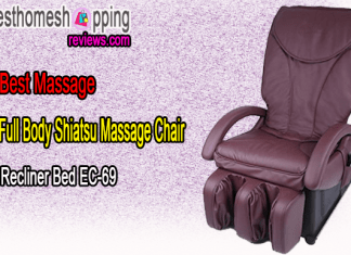Full Body Shiatsu Massage Chair Recliner Bed EC-69 By BestMassage