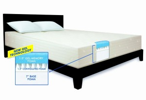 Serta 10-Inch Gel Memory Foam Mattress