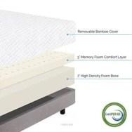 LUCID 10 Inch Plush Memory Foam Mattress Review