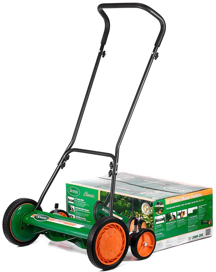 Best Lawn Mower For Small Yard 2018 By Scotts 2000-20